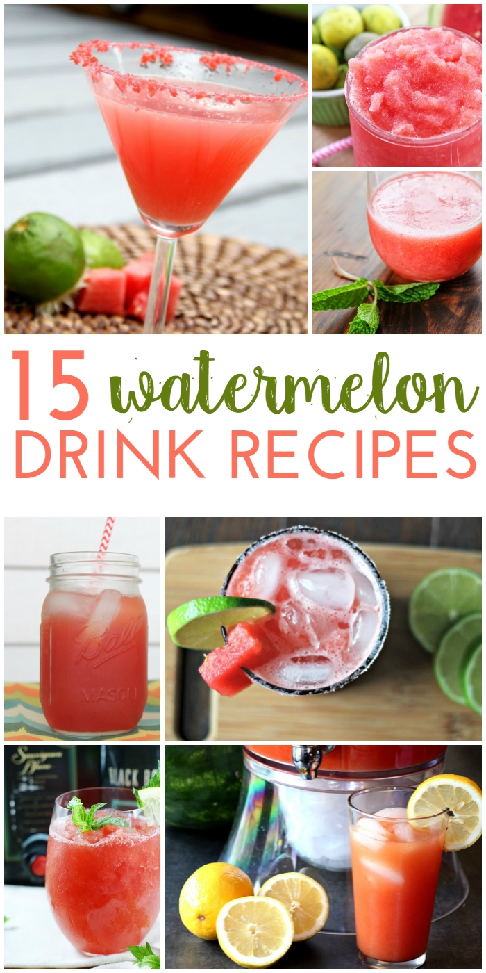 Refreshing Watermelon Drink Recipes For Summer