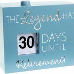 Retirement Countdown Calendar