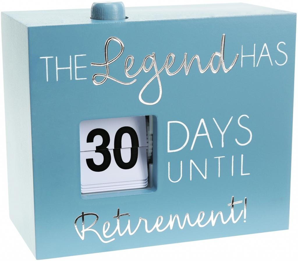 Retirement Calendar Countdown – Calendar Template 2020