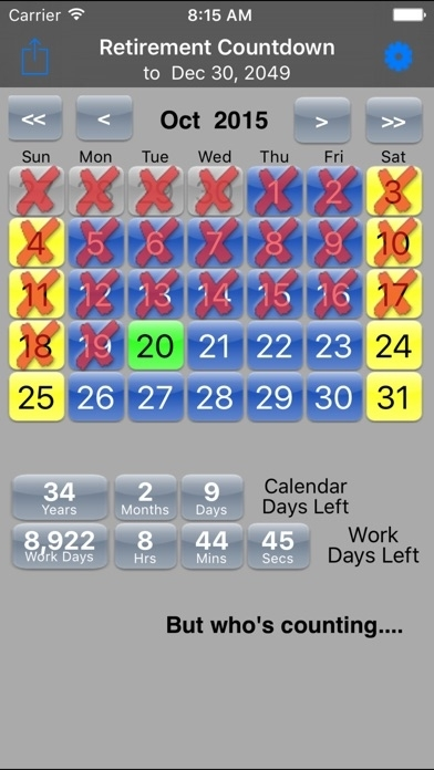Retirement Countdown Ad Free On The App Store
