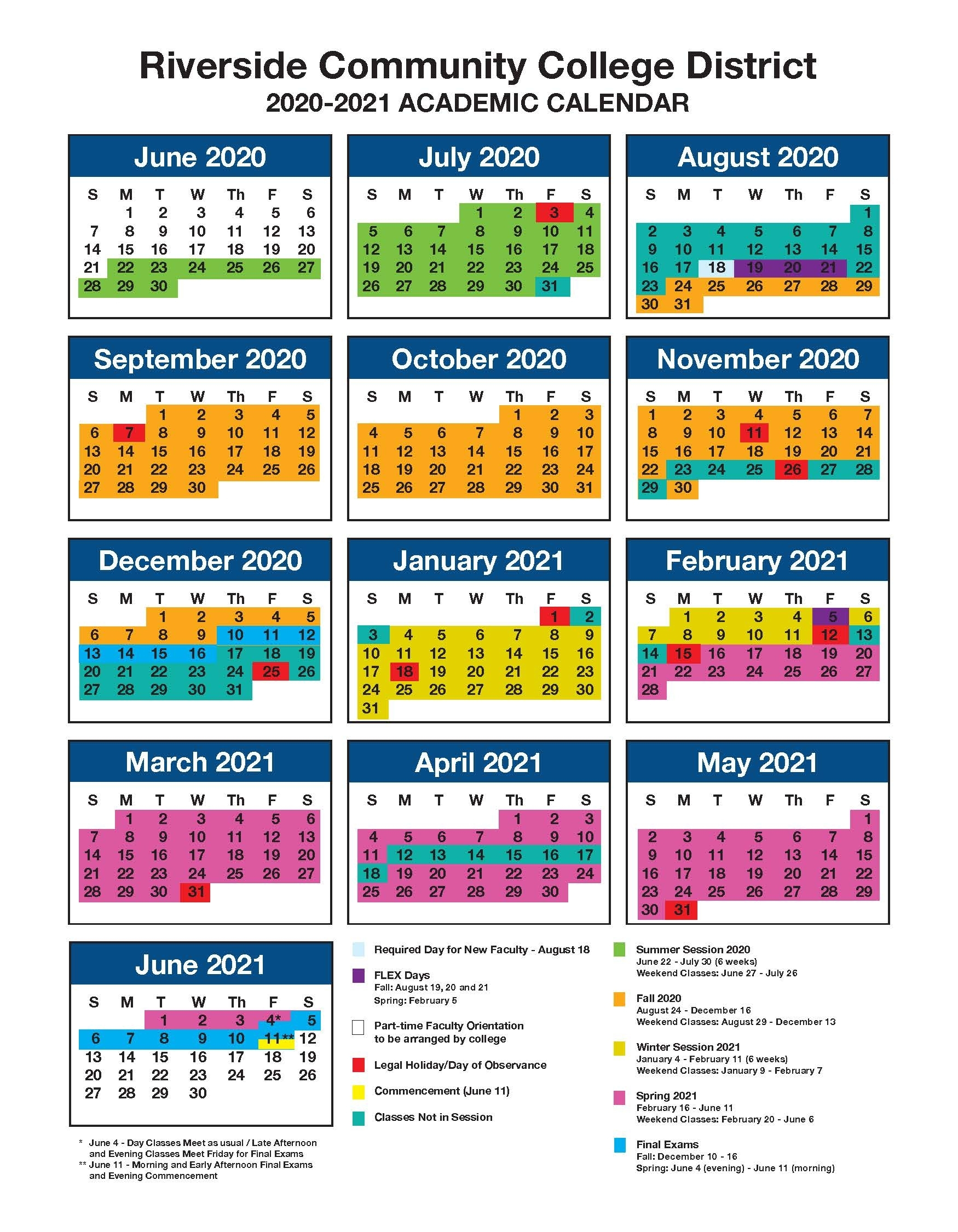 Riverside Calendar 2019