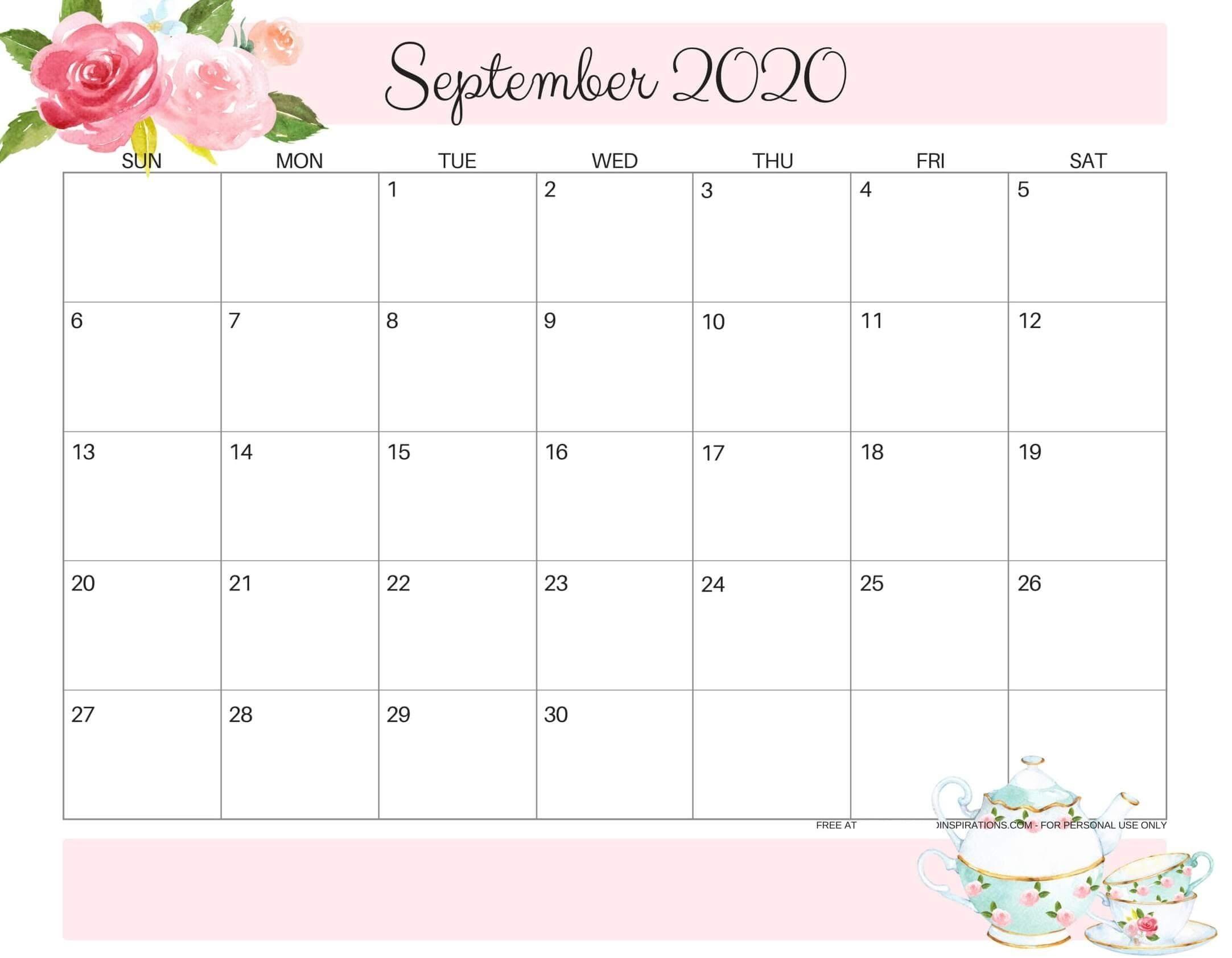 September 2020 Calendar Uk National Holidays Templates