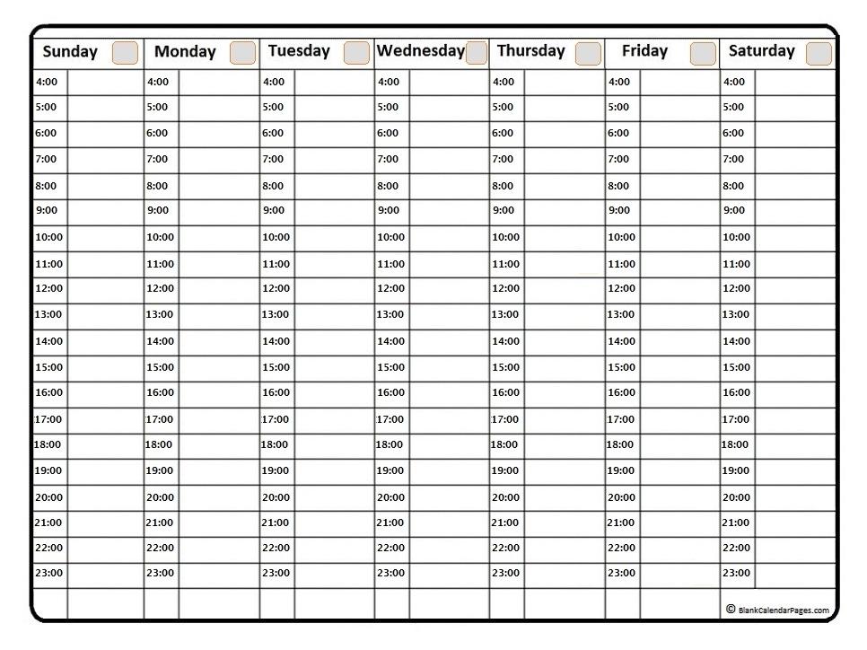 September 2020 Weekly Calendar | September 2020 Weekly