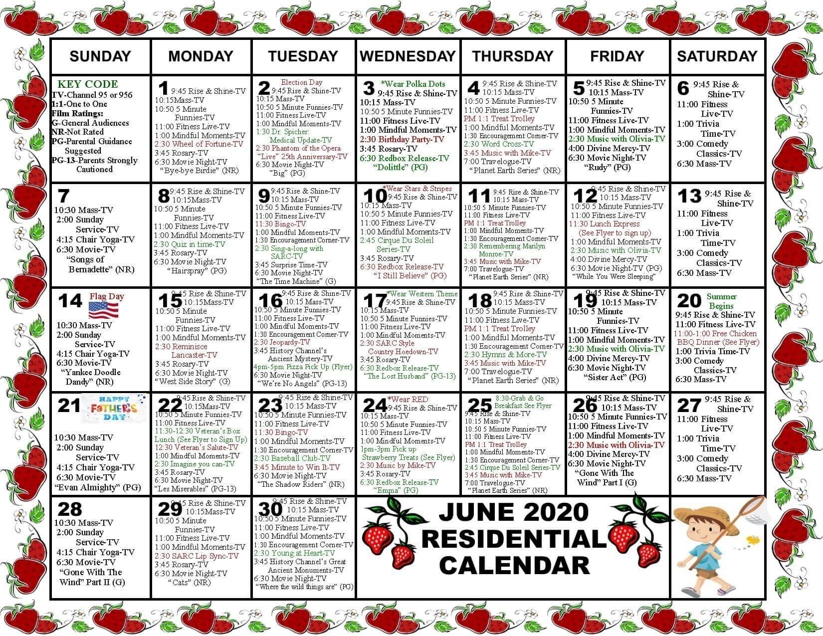 Short Time Calendars For Retirement | Calendar Template 2020