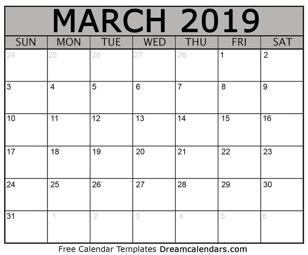 Short Timers Calendar Printable | Calendar Template 2020