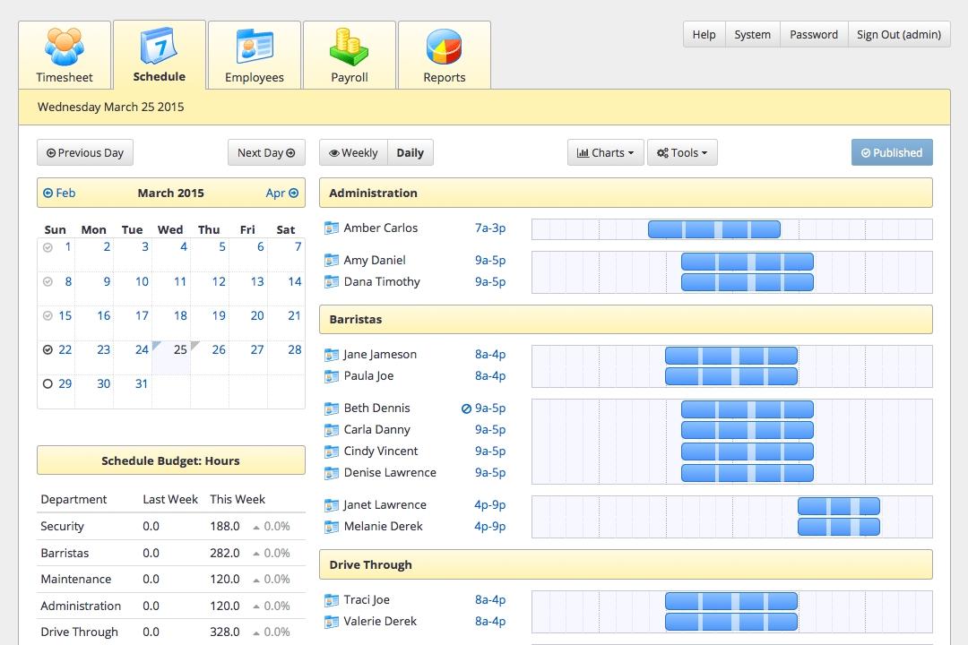 Staff Scheduling Software - Tixtime