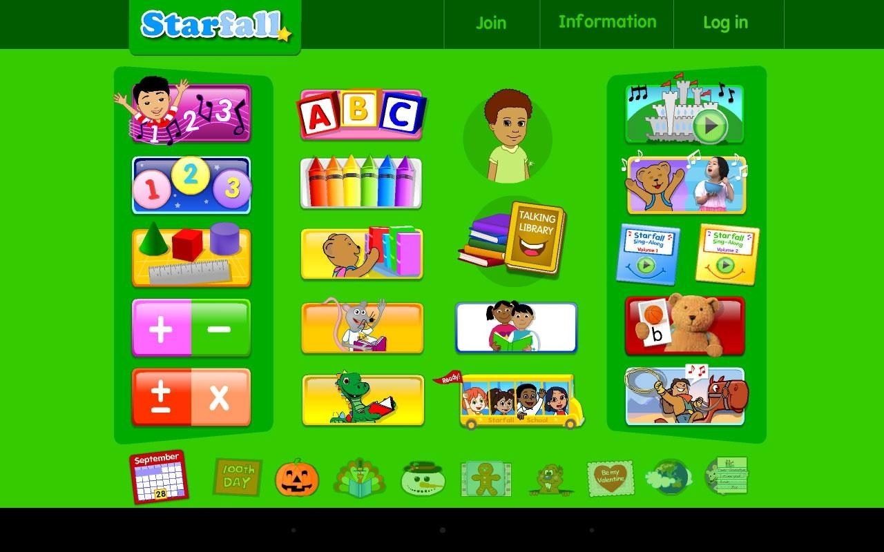 Starfall - Games Educate Kids
