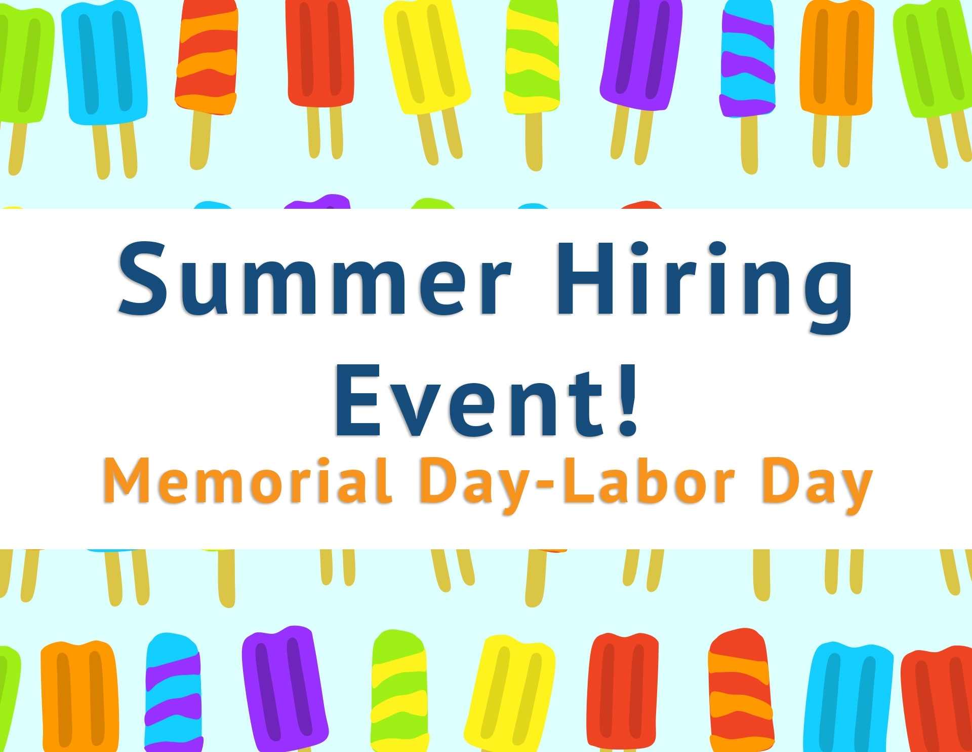 Summer Hiring Event - Increased Sign-On Bonus Up To $5,000