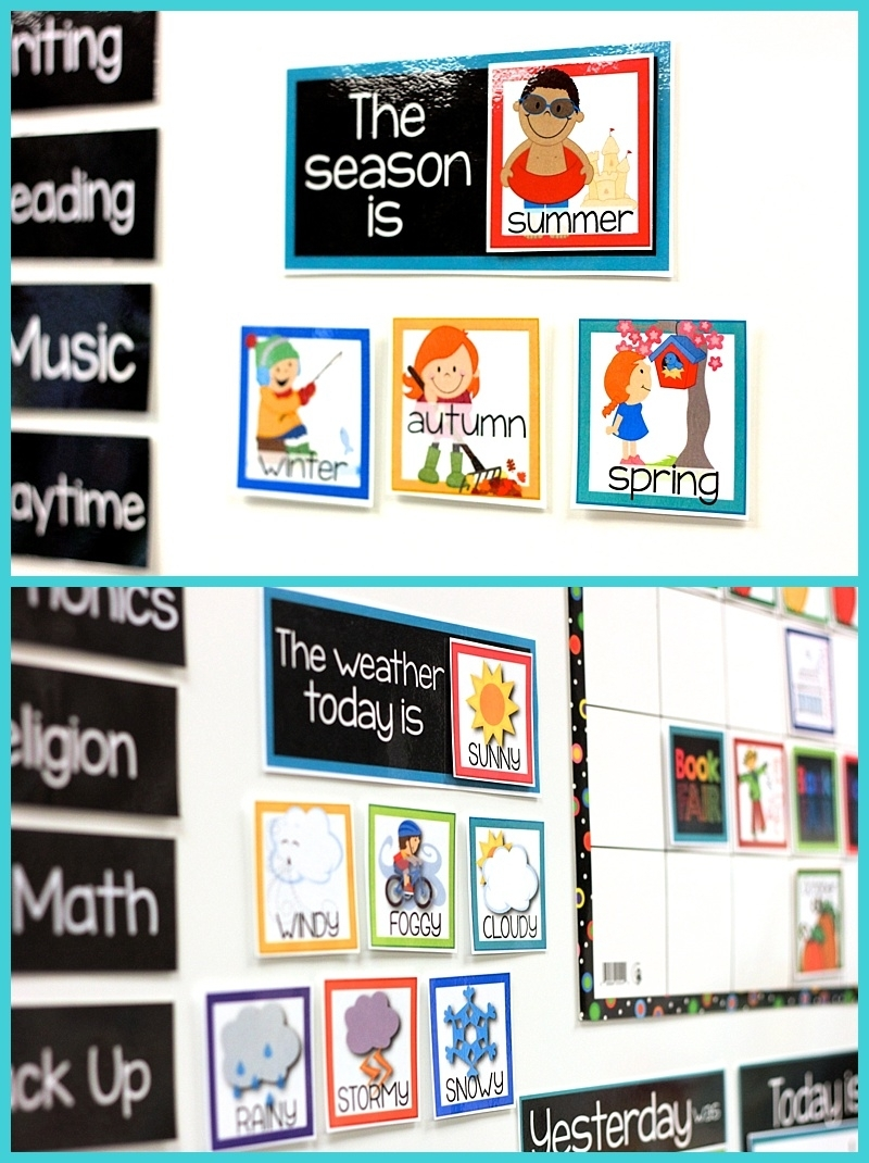 Teaching With My Classroom Calendar