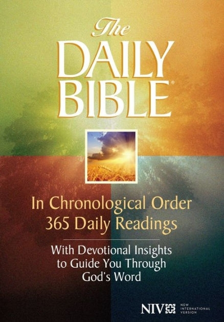 The Daily Bible® - In Chronological Order (Niv®) By F