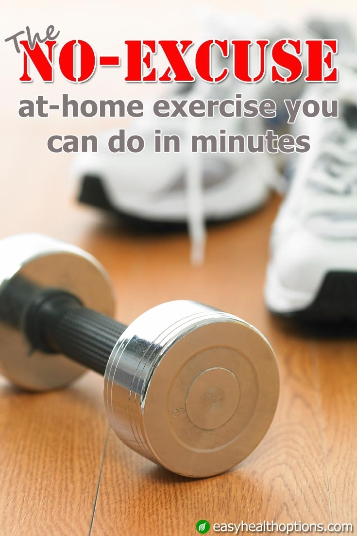 The No-Excuse At-Home Exercise You Can Do In Minutes