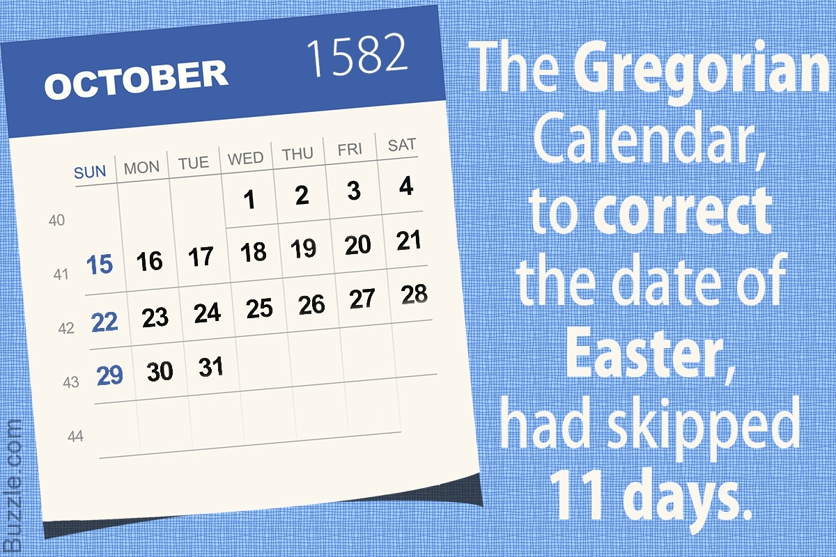 Things You Probably Didn'T Know About The Gregorian Calendar