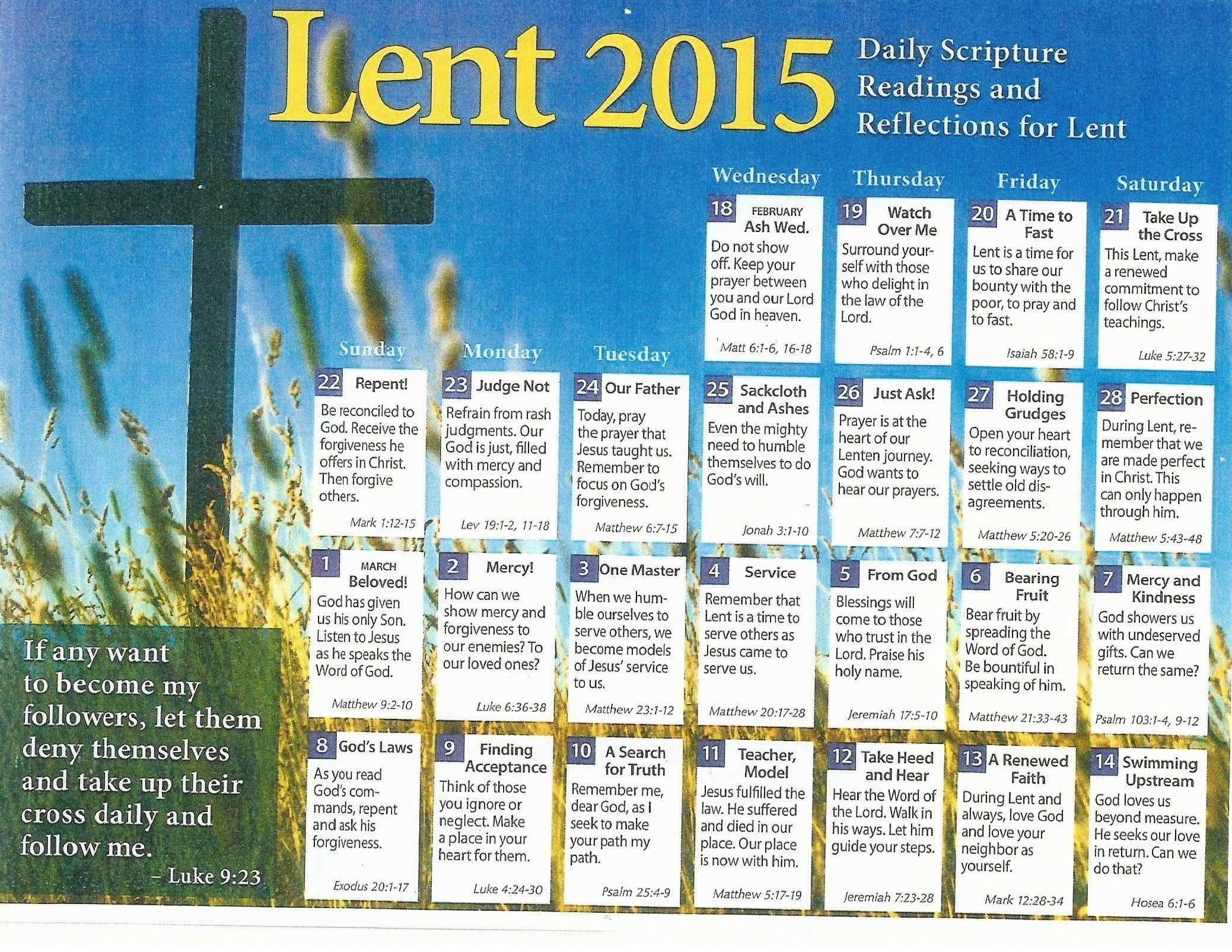 United Methodist Church Liturgical Calendar – Template