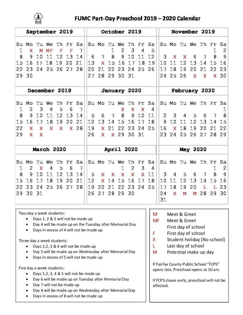 United Methodist Liturgical Calendar 2020 – Template