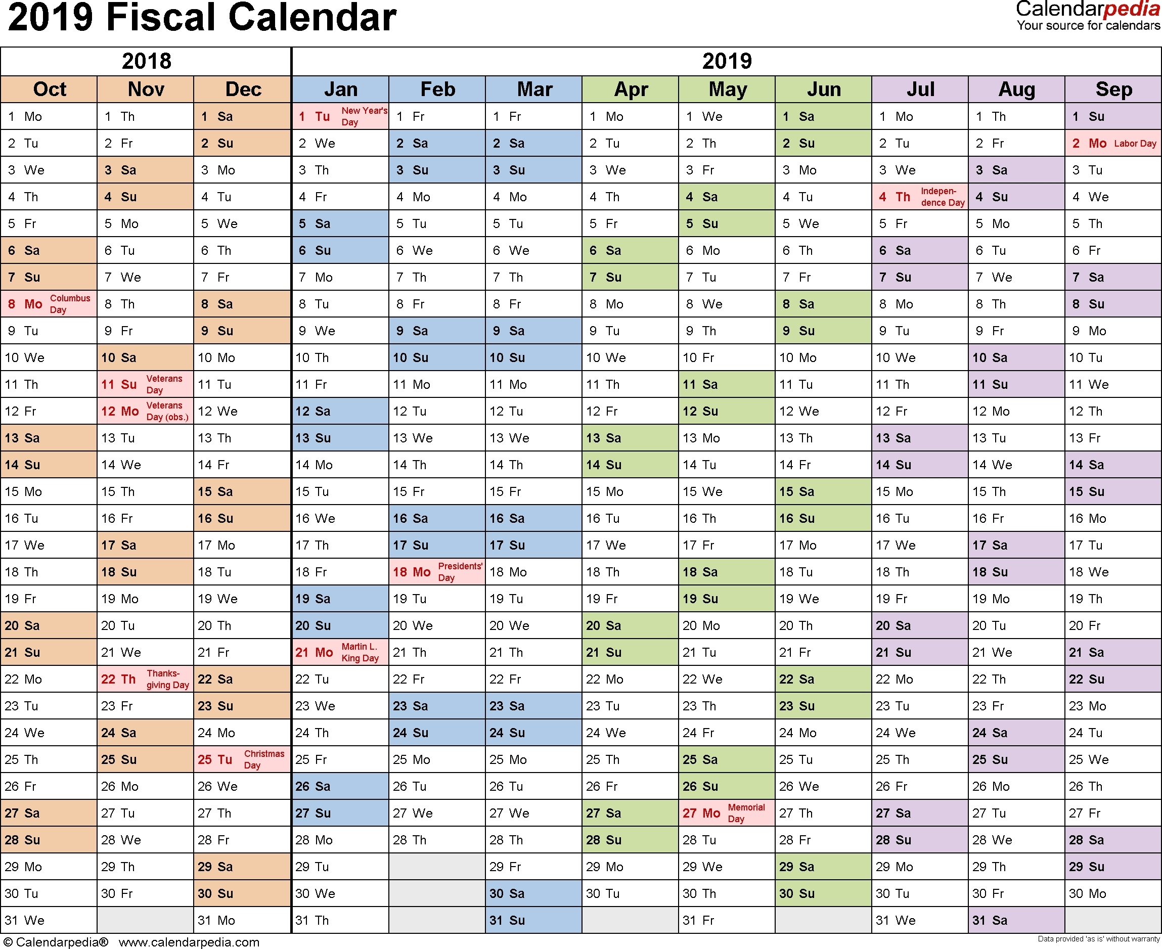 Usps Pay Period Calendar 2019 – Template Calendar Design