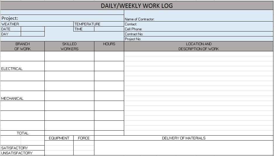 Weekend On Call Schedule Template | Lera Mera
