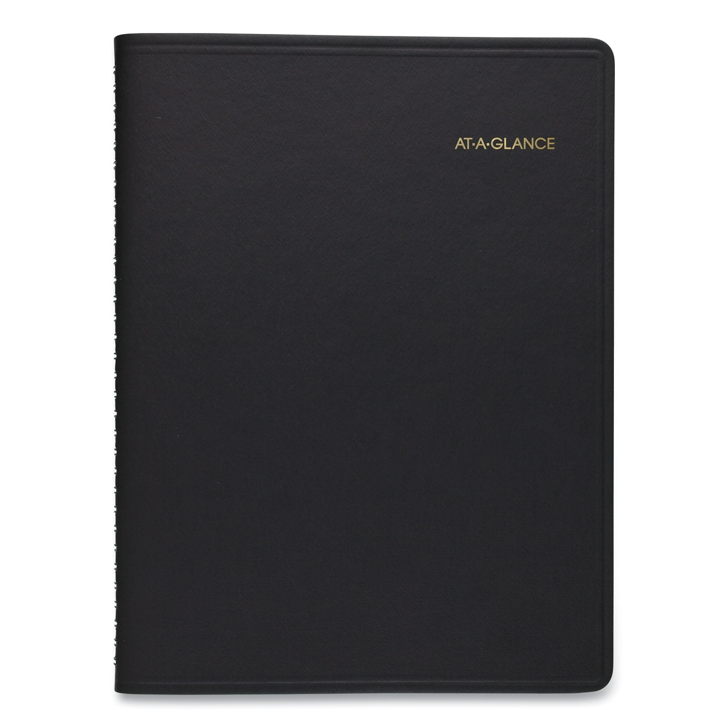 Weekly Appointment Book, Academic, 11 X 8.25, Black, 2020