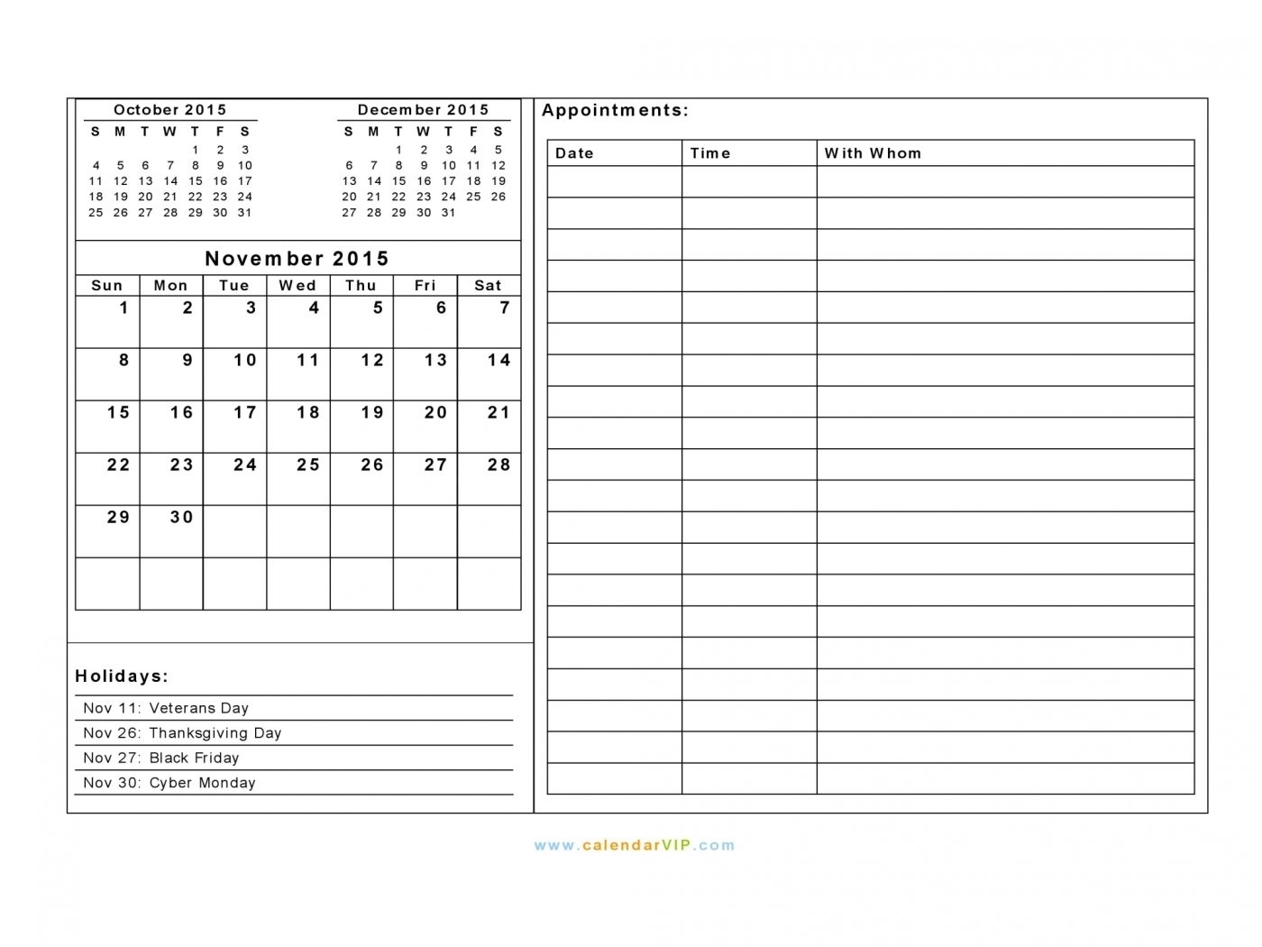 Weekly Calendar With Time Slots Template | Calendar