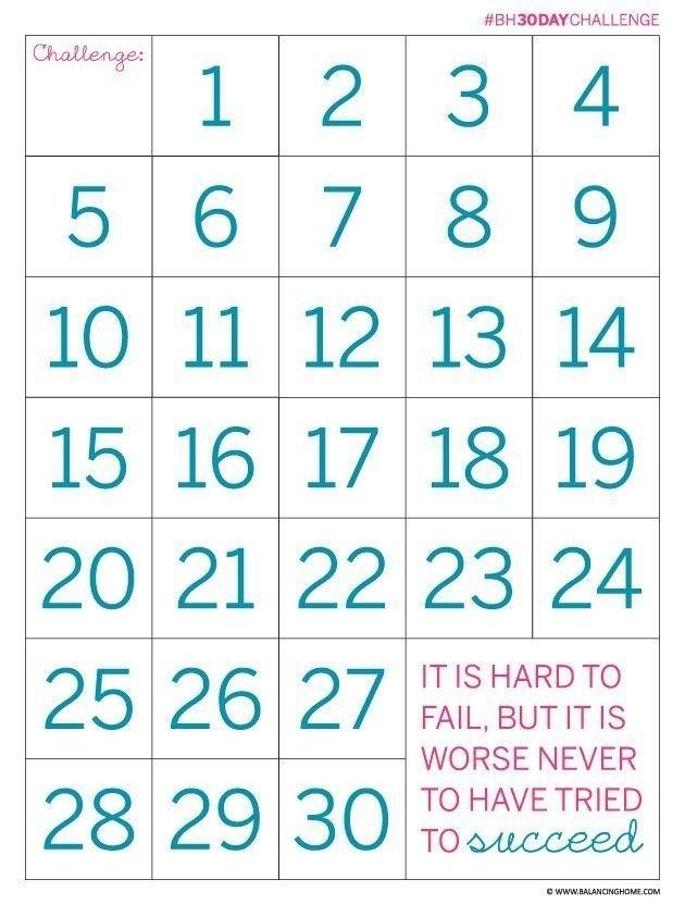 Weight Loss Countdown Calendar Printable | Get Free