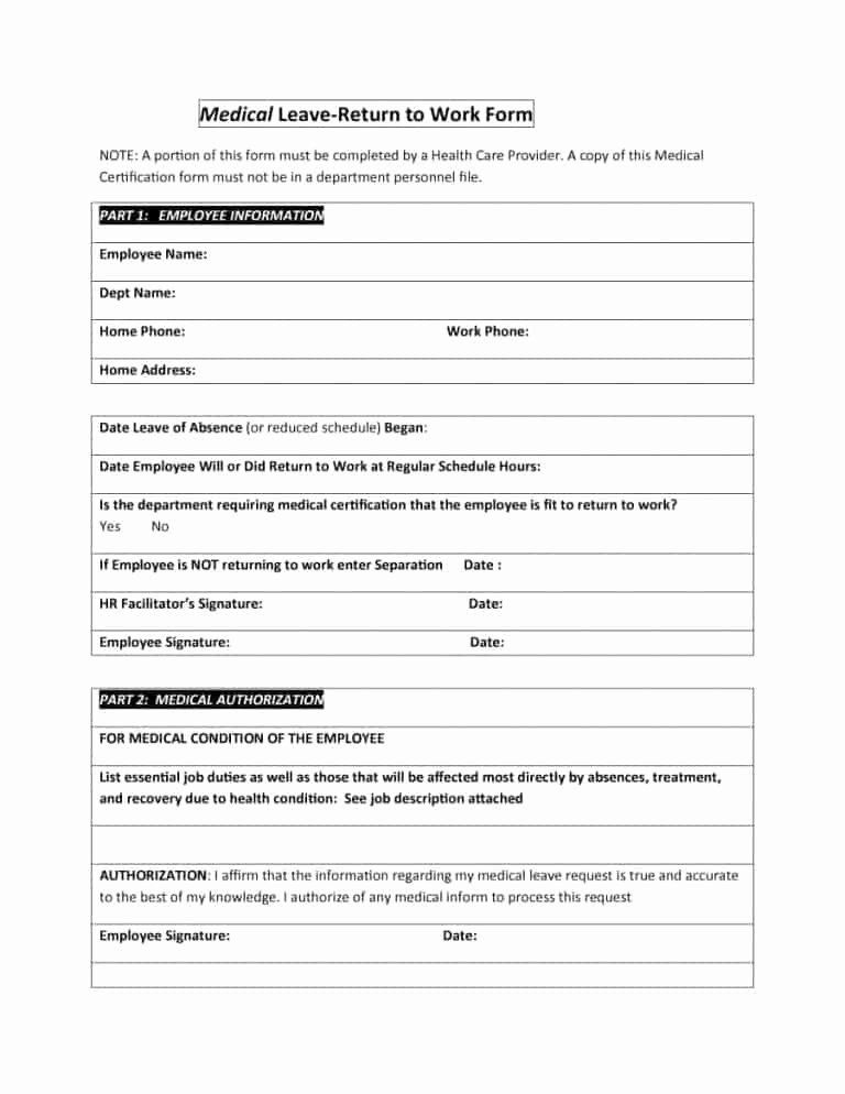 Work Restriction Letter Elegant Unique Return To Work With