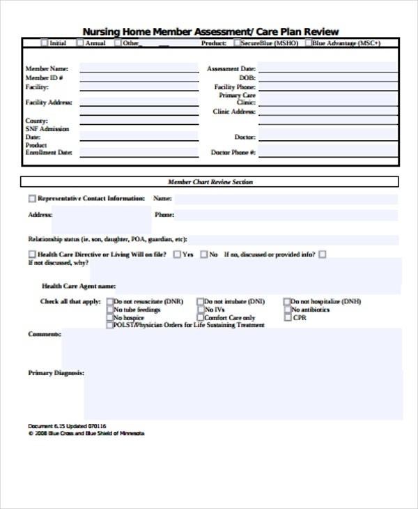 10+ Nursing Care Plan Templates -Free Sample, Example Format Download | Free & Premium Templates