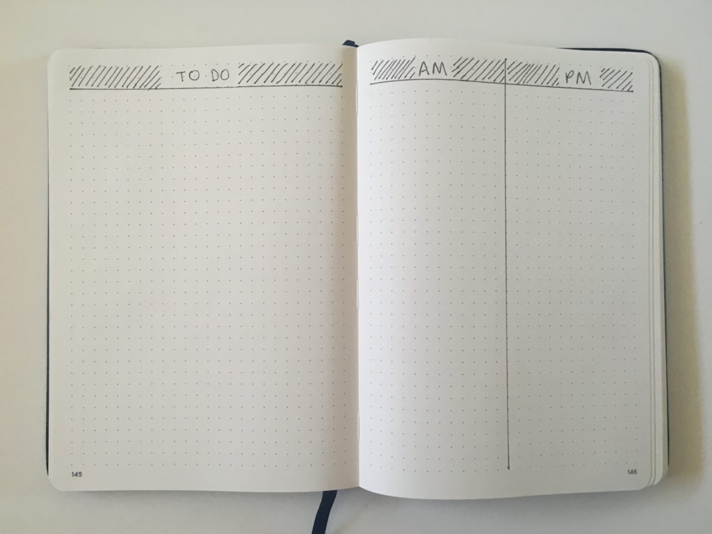 10 Quick And Simple Bullet Journal Daily Layouts - All About Planners