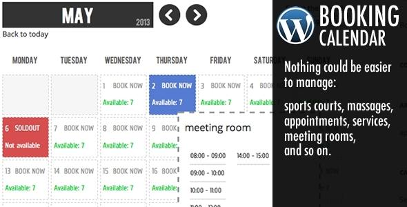 16 Best WordPress Booking Calendar Plugins 2019 (Compared)