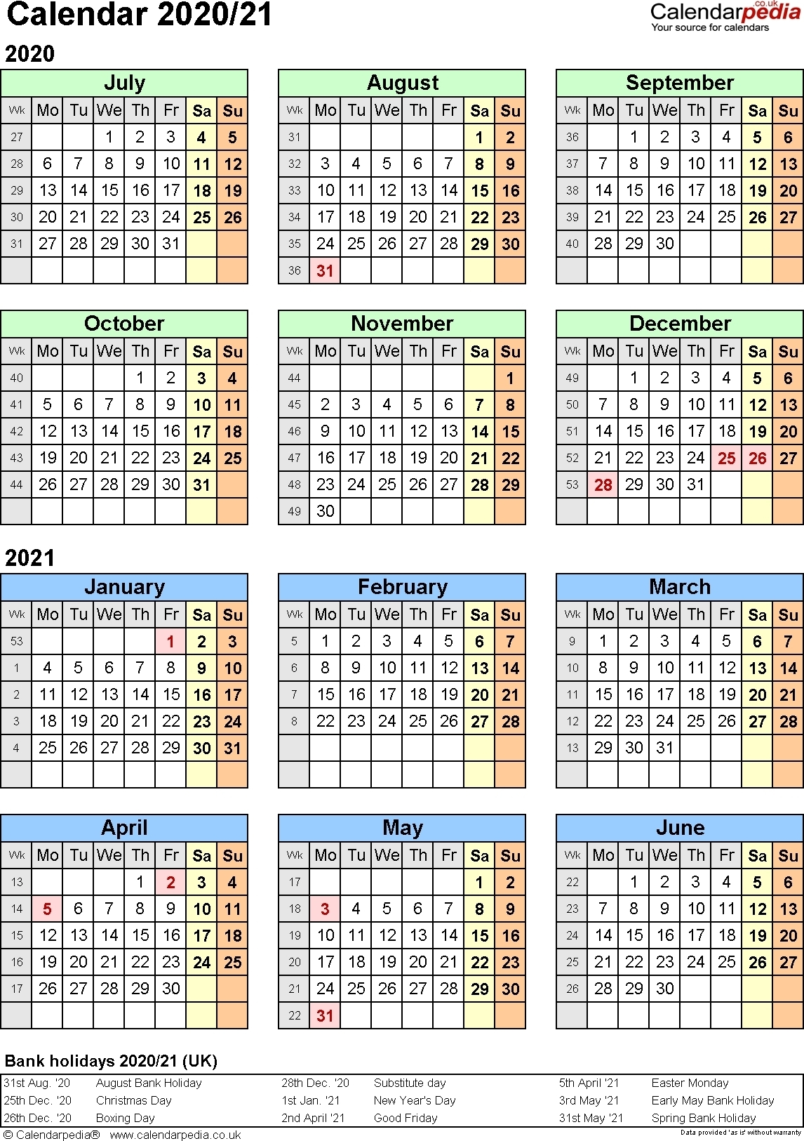 2020 Pay Period Calendar - Template Calendar Design