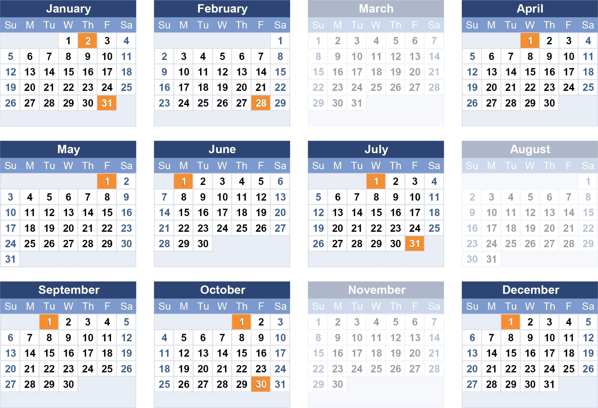 2020 Usps Postal Pay Periods - Template Calendar Design