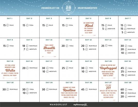 28 Day Calender | Printable Calendar Template 2020