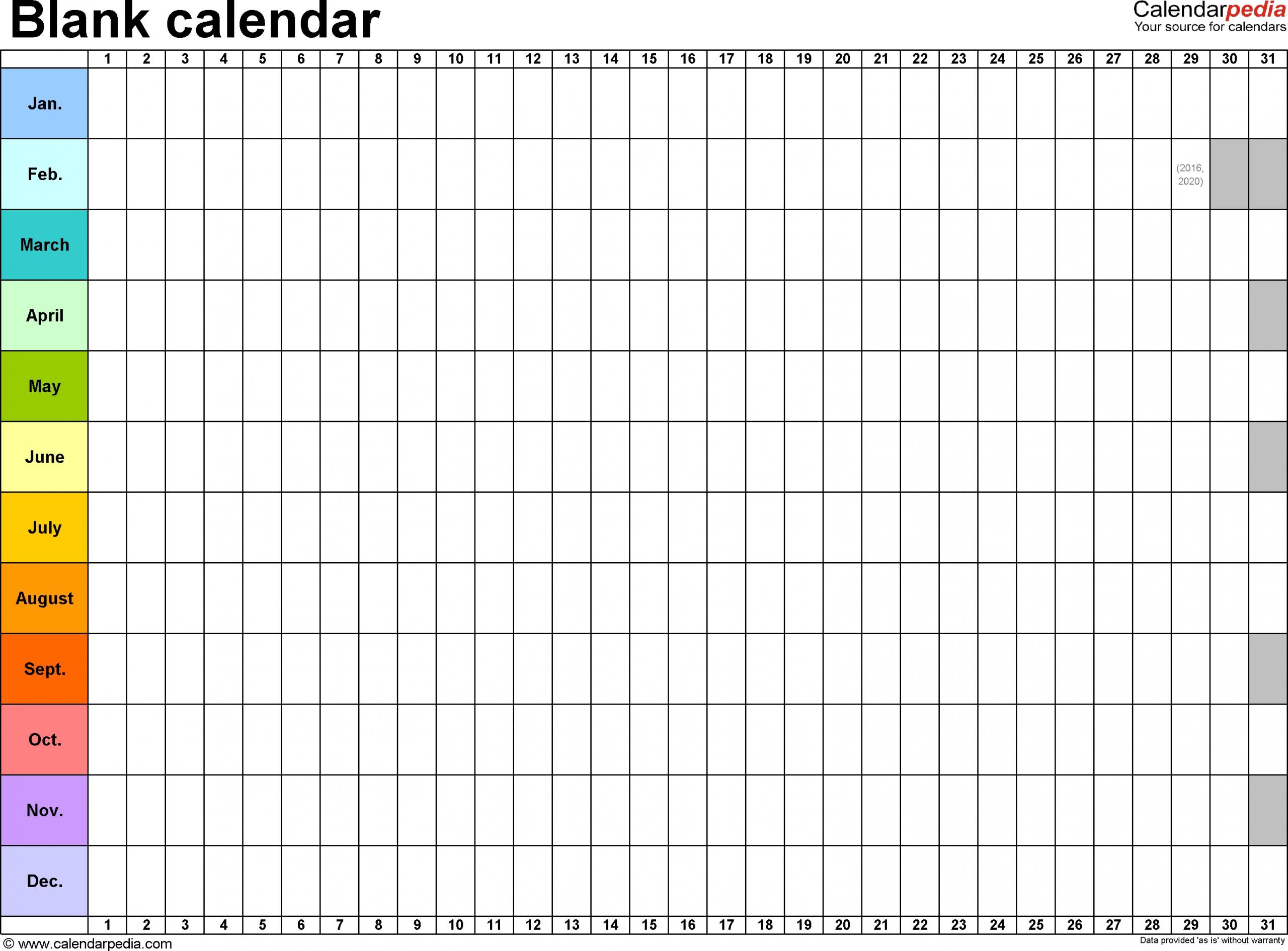 365 Day Countdown Calendar | Calendar For Planning