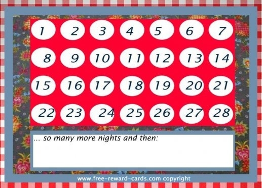 6 Colorful Birthday Countdown Calendars | Kittybabylove