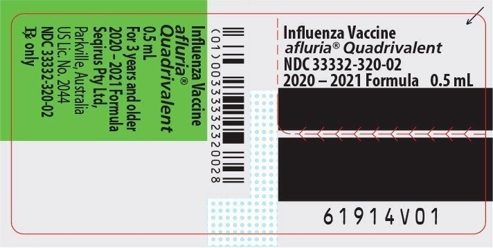 Afluria Quadrivalent - Fda Prescribing Information, Side Effects And Uses