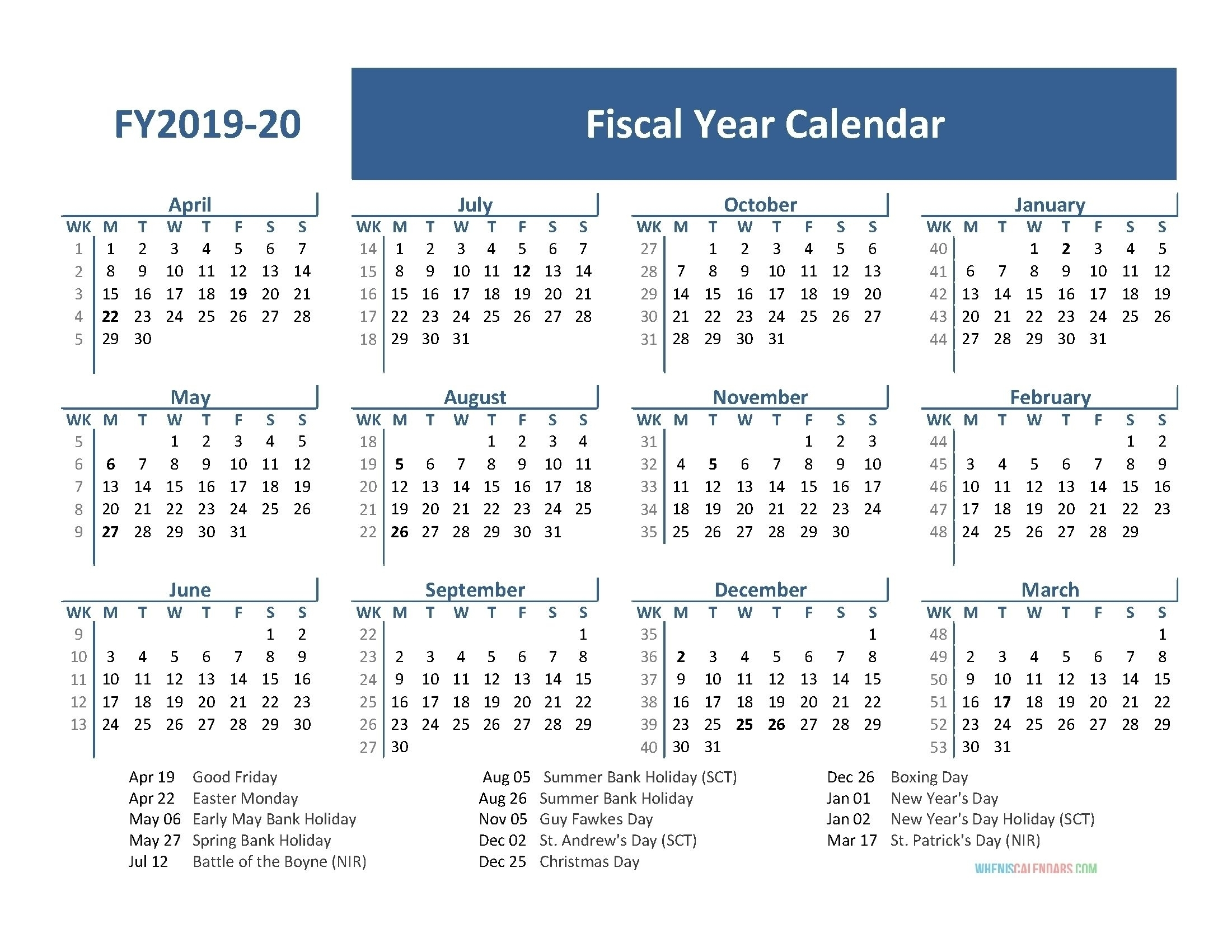 Best Calendar Example - Part 6