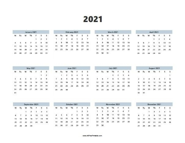 Calendar Year 2021 Printable Free - Delightful For You To My Own Weblog, In This Particular