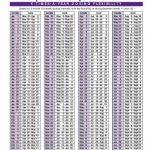 Depo Schedule Calendar