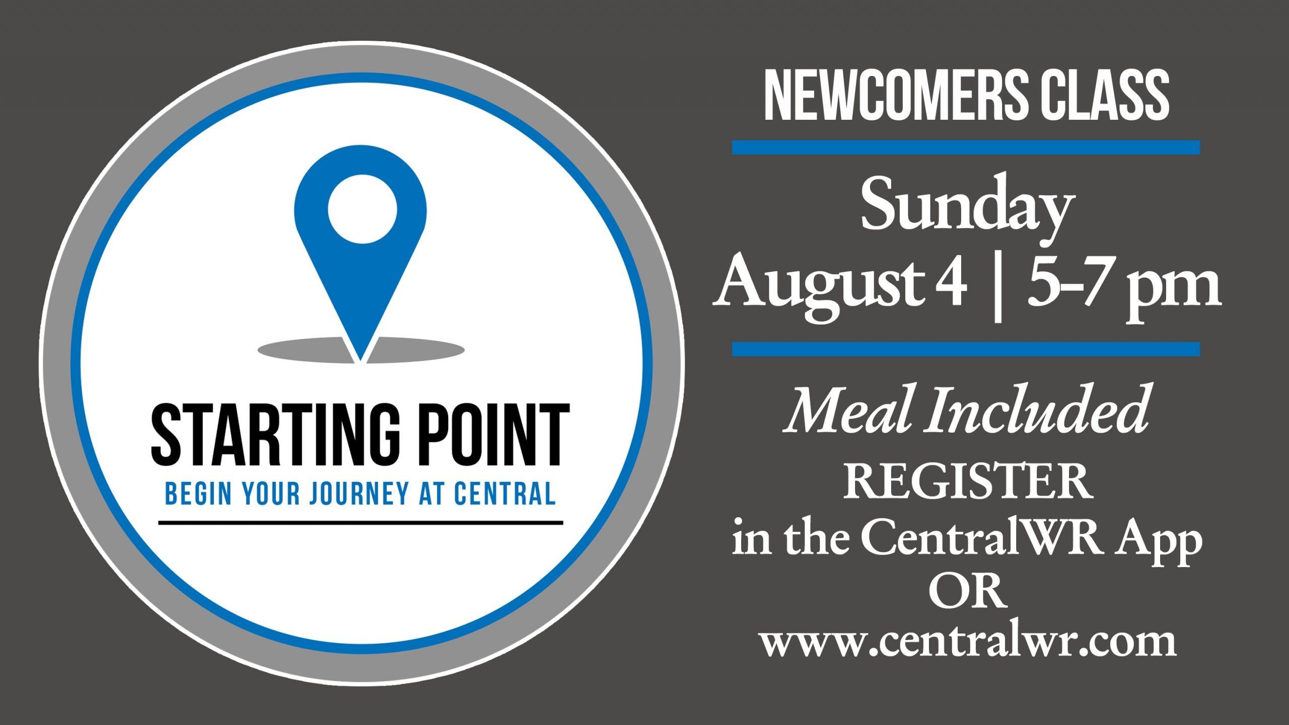 Central Baptist Church: Warner Robins, Ga > Starting Point At Cbc