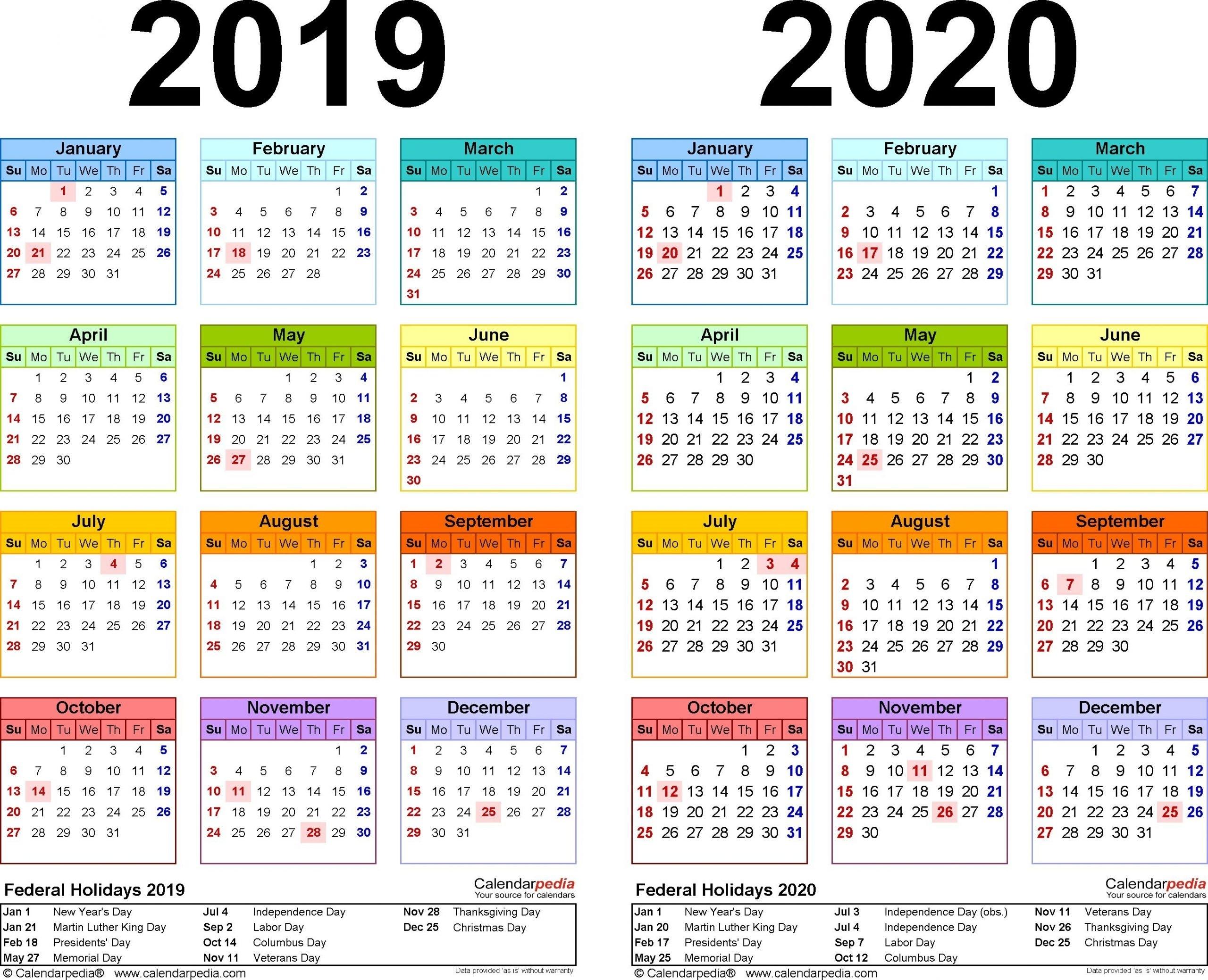 Collect Federal Pay Period Calendar 2020 Printable | Calendar Printables Free Blank