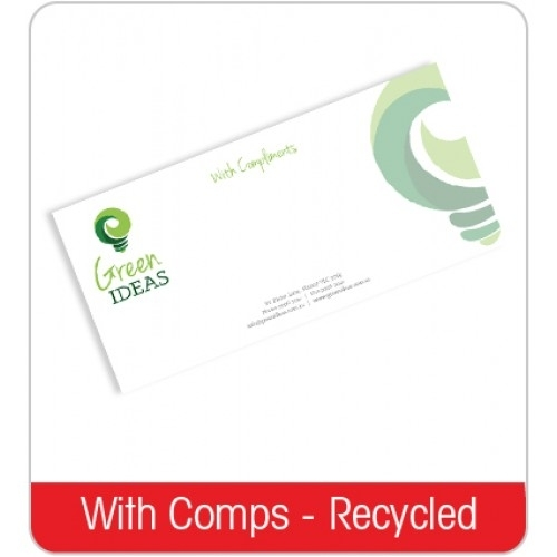 Compliments Slip - Recycled