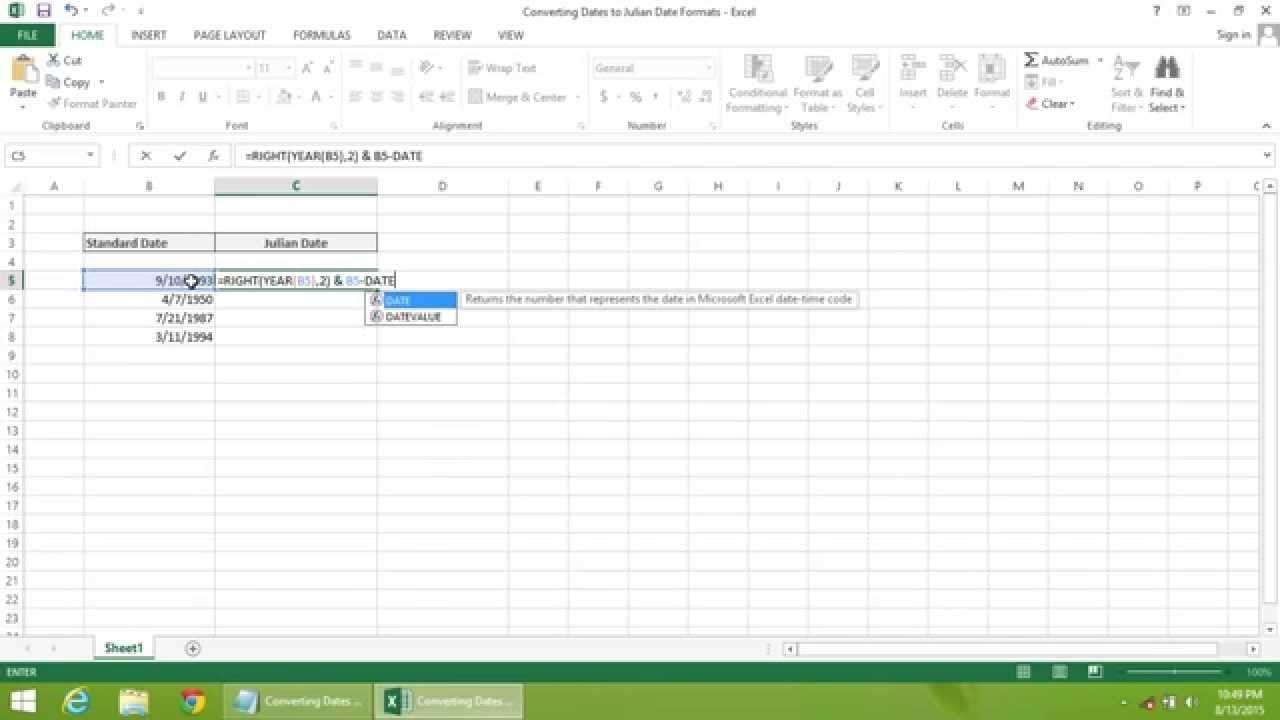 Convert Julian Date To Regular Date | Calendar For Planning