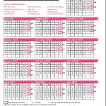 2021 Pay Calendar Federal