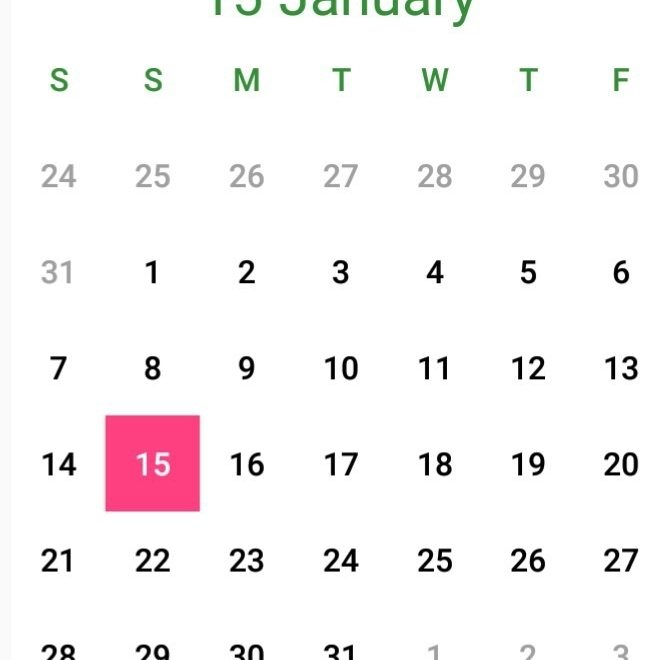 Creating A Simple Android Calendar In 7 Steps. - Abhishek Kumar - Medium