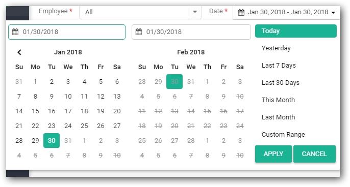 Datepicker - Is Range Selection Possible In Wpf Date Picker? - Stack Overflow