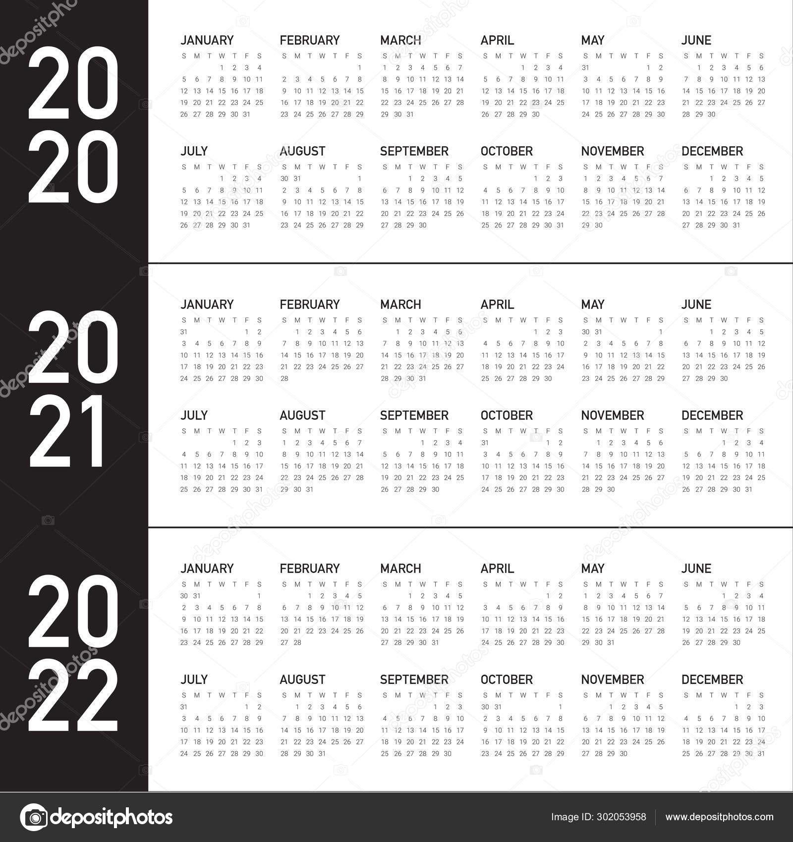 Depo Calendar 2021 - Template Calendar Design