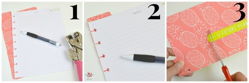 Diy Dividers For Happy Planners - Organized 31