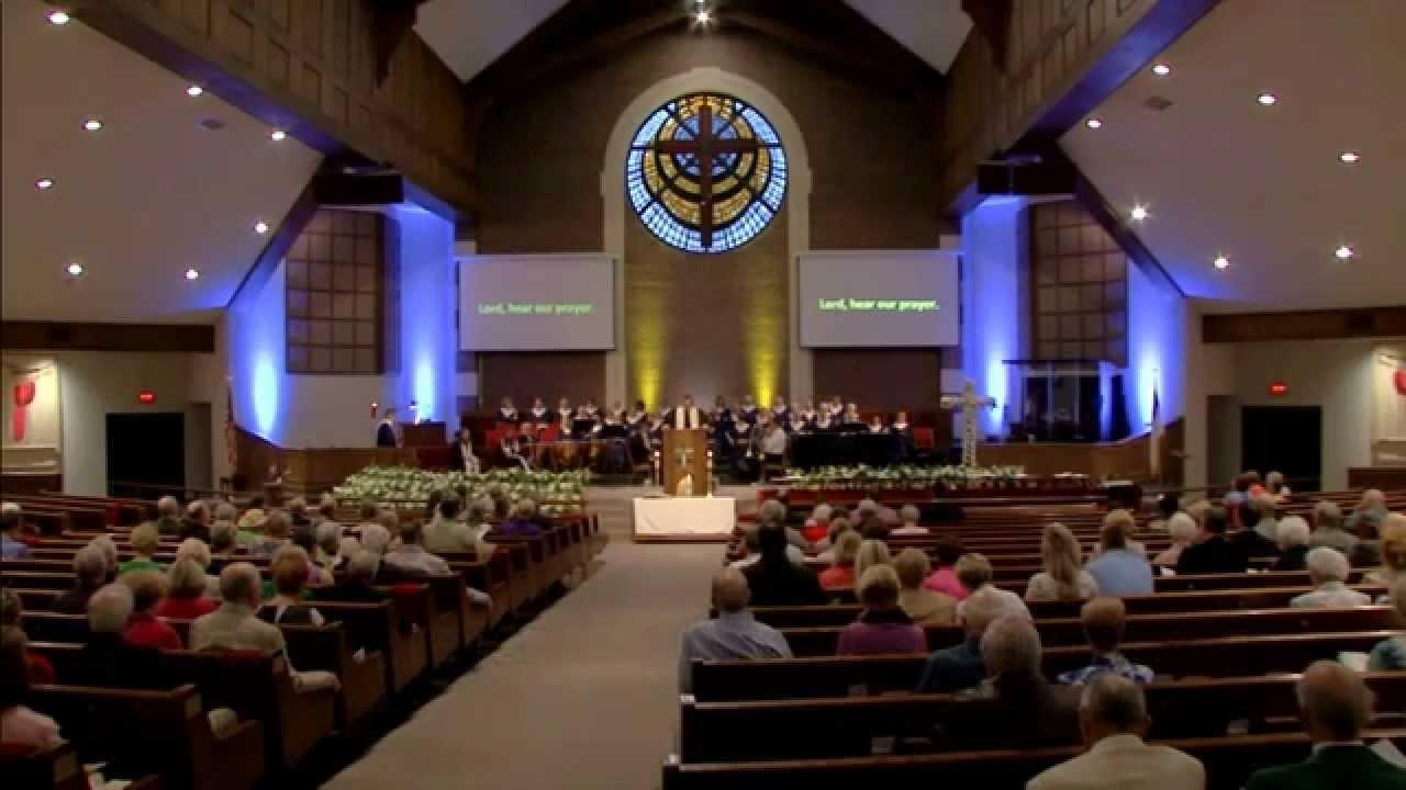 Early Worship On Easter Sunday At Acton United Methodist Church 2015 - Youtube