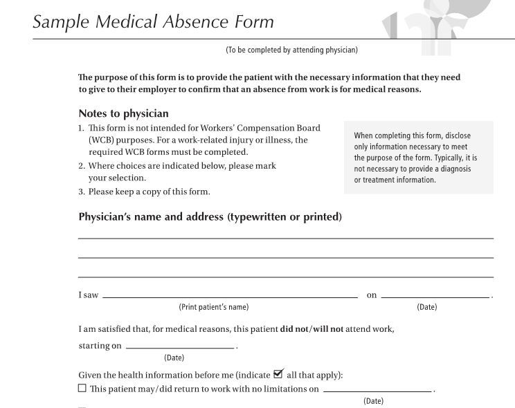 Fake Doctors Note Template - 27+ Free Word, Pot, Pdf Documents Download | Doctors Note Template