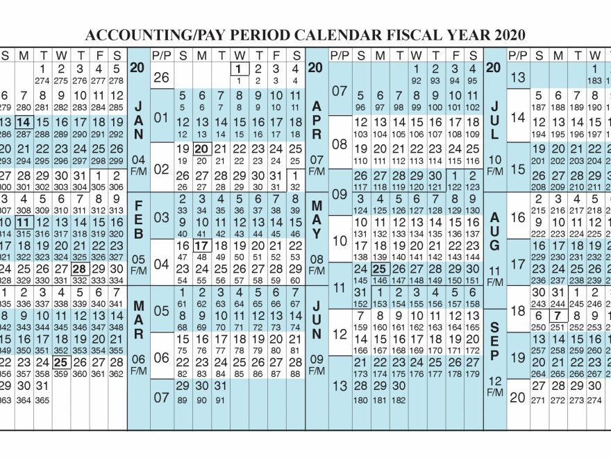 Federal Pay Period 2021 Calendar | Printable Calendar Template 2020