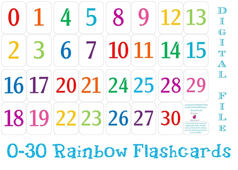 Free Printable Calendar Numbers For Classroom | Month Calendar Printable