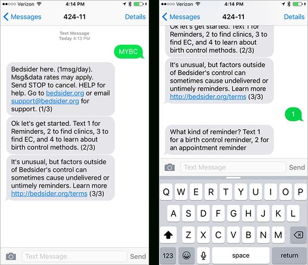 Hello, Bedsider Mobile: Birth Control Info On Your Phone - Bedsider